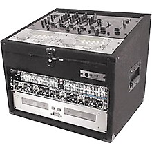 Odyssey Carpeted Combo Mixer Rack Case Level 1 6 Space