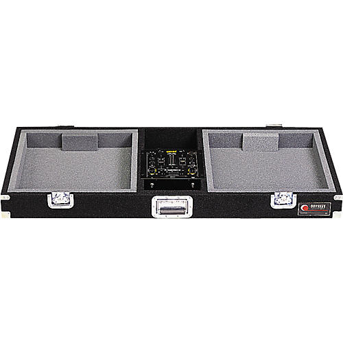 Odyssey Carpeted DJ Console for (1) 10