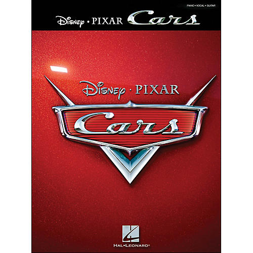 Hal Leonard Cars By Disney Pixar arranged for piano, vocal, and guitar (P/V/G)