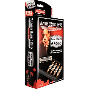 Hohner Case of Marine Bands Harmonica 5 Pack