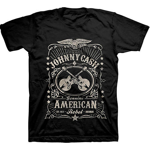 Johnny Cash Cash American Rebel Label
