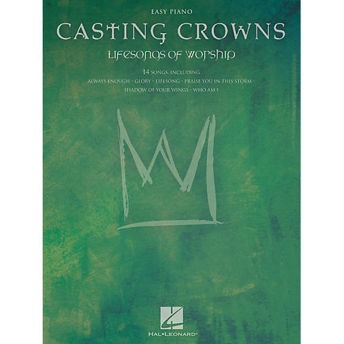 Hal Leonard Casting Crowns - Lifesongs Of Worship For Easy Piano-thumbnail