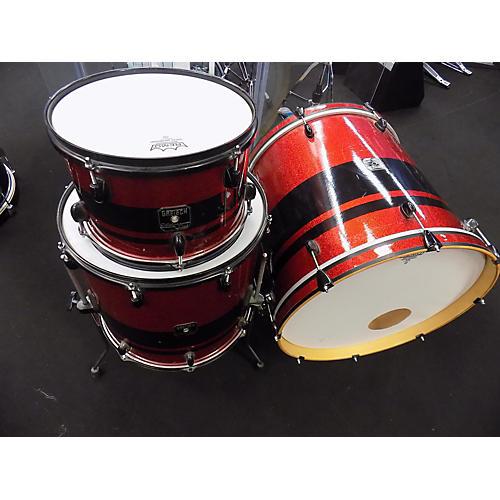 Gretsch Drums Catalina Club Series Drum Kit red sparkle