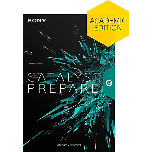 Sony Catalyst Prepare - Academic Software Download