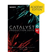 Sony Catalyst Production Suite - Academic Software Download