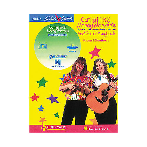 Homespun Cathy Fink & Marcy Marxer's Kids' Guitar Songbook with CD-thumbnail