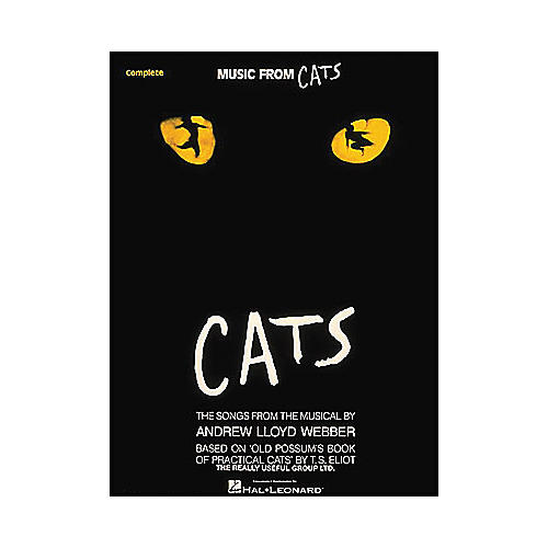 Hal Leonard Cats (Music From 2003 Complete) arranged for piano, vocal, and guitar (P/V/G)