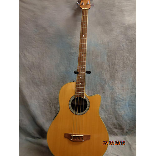 Ovation Cc074 Natural Acoustic Bass Guitar
