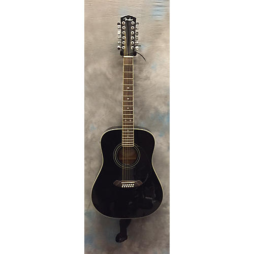 Fender Cd160e 12 String Acoustic Electric Guitar