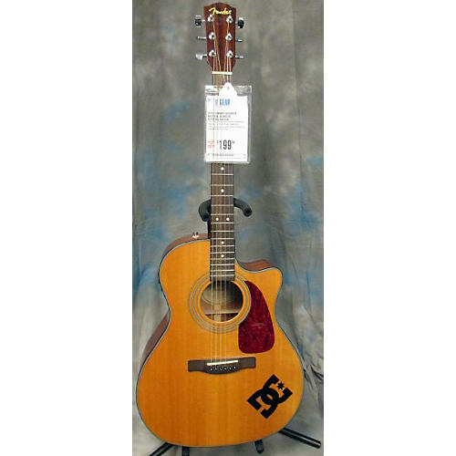 Fender Cd360sce Natural Acoustic Electric Guitar-thumbnail