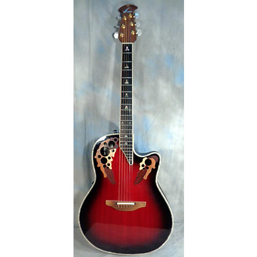 Ovation Ce-768 Custom Elite Acoustic Electric Guitar