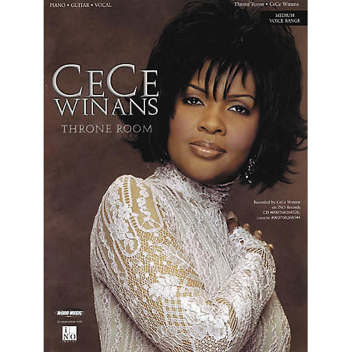 Word Music CeCe Winans - Throne Room Piano/Vocal/Guitar Artist Songbook