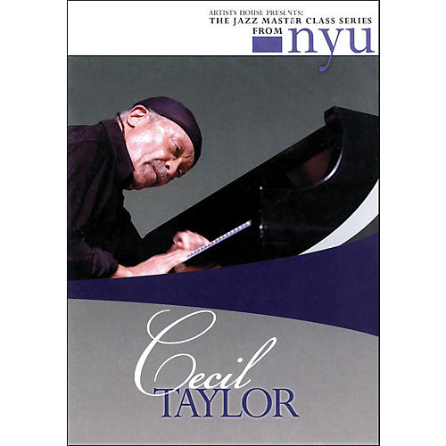Hal Leonard Cecil Taylor - The Jazz Master Class Series From NYU (DVD)