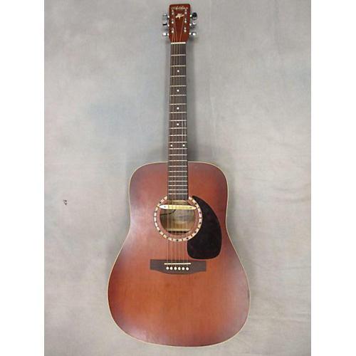 Art & Lutherie Cedar Antique Burst Dreadnaught Acoustic Guitar-thumbnail