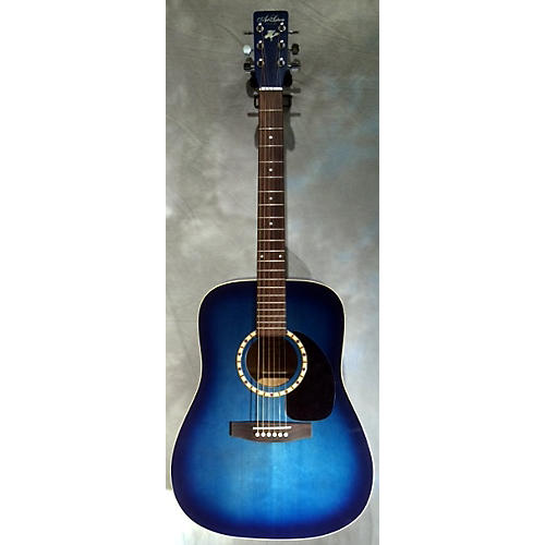 Art & Lutherie Cedar Blue Acoustic Guitar