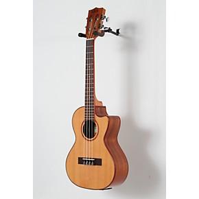 kala cedar top cutaway acoustic electric tenor ukulele natural guitar center. Black Bedroom Furniture Sets. Home Design Ideas