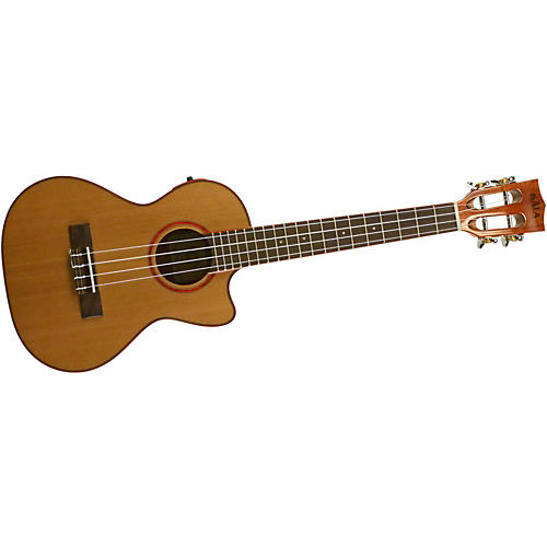 Kala Cedar Top Cutaway Acoustic-Electric Tenor Ukulele