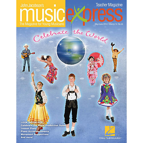 Hal Leonard Celebrate the World Vol. 14 No. 6 Teacher Magazine w/CD by Duke Ellington Arranged by Emily Crocker