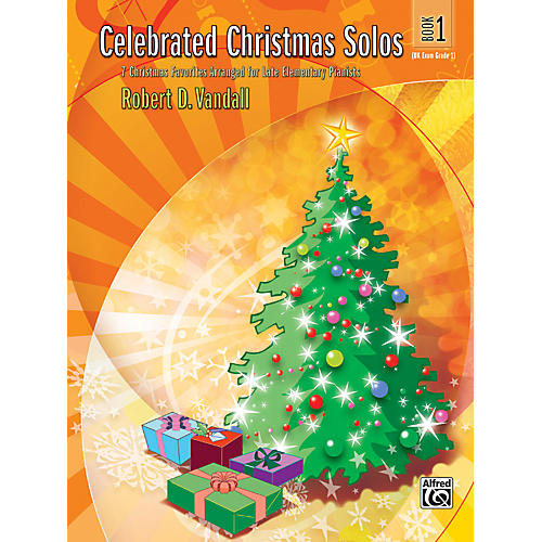 Alfred Celebrated Christmas Solos Book 1