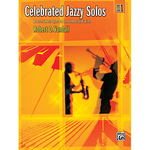Alfred Celebrated Jazzy Solos Book 1 Piano-thumbnail