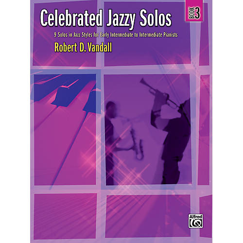 Alfred Celebrated Jazzy Solos Book 3 Piano-thumbnail