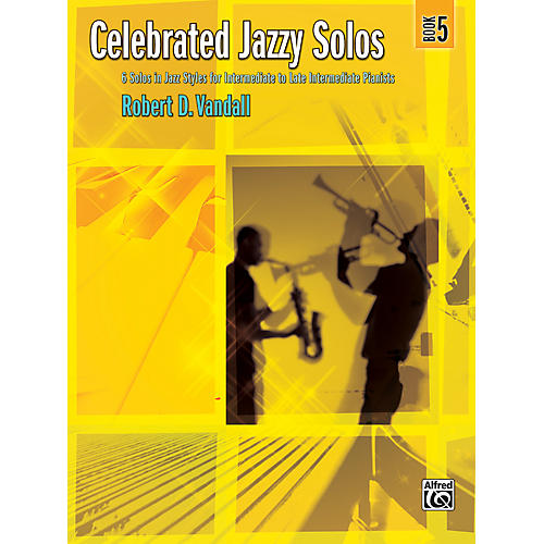 Alfred Celebrated Jazzy Solos Book 5 Piano-thumbnail