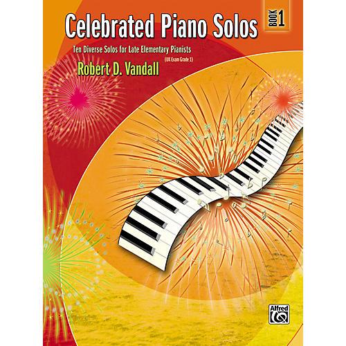 Alfred Celebrated Piano Solos Book 1