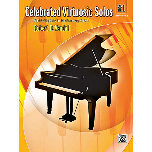 Alfred Celebrated Virtuosic Solos Book