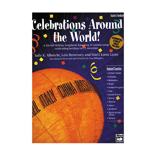 Alfred Celebrations Around the World! SoundTrax CD-thumbnail