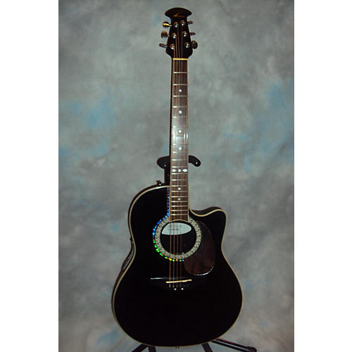 Ovation Celebrity CC-057 Black Acoustic Electric Guitar