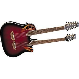 Ovation Celebrity Doubleneck CSE225 Acoustic-Electric Guitar by Ovation