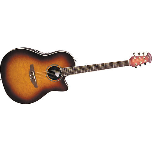Ovation Celebrity GC Birdseye Acoustic-Electric Guitar-thumbnail