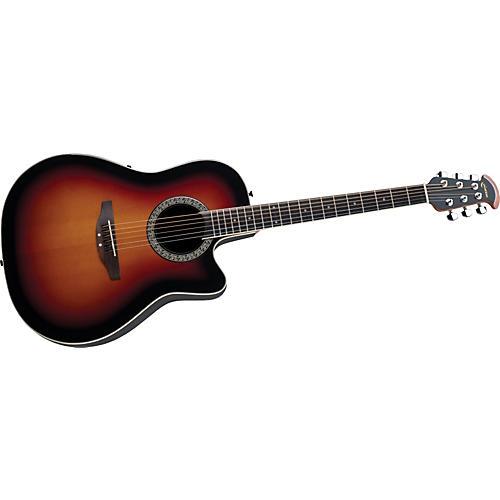 Ovation Celebrity Mid-Depth Acoustic-Electric Guitar Sunburst