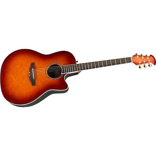 Ovation Celebrity Mid Depth Birdseye Maple Autumn Burst