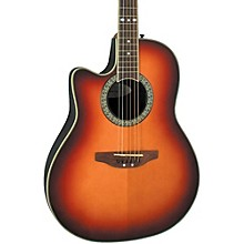 Ovation Celebrity Standard Left-Handed Acoustic-Electric Guitar Level 1 Honey Burst