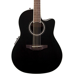 Ovation Celebrity Standard Mid-Depth Cutaway Acoustic-Electric Guitar by Ovation