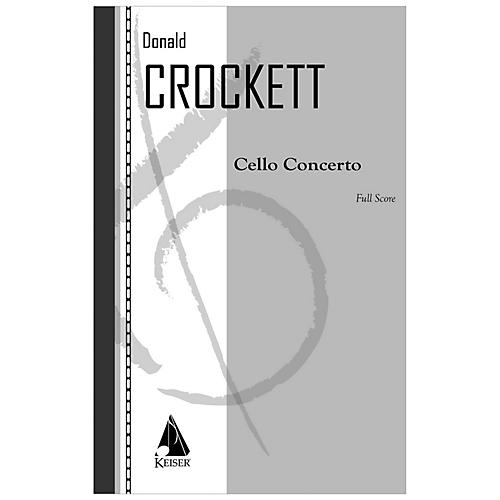 Lauren Keiser Music Publishing Cello Concerto LKM Music Series Composed by Donald Crockett