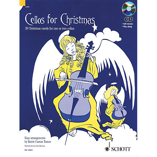 Schott Cellos for Christmas (20 Christmas Carols for One or Two Cellos) Schott Series