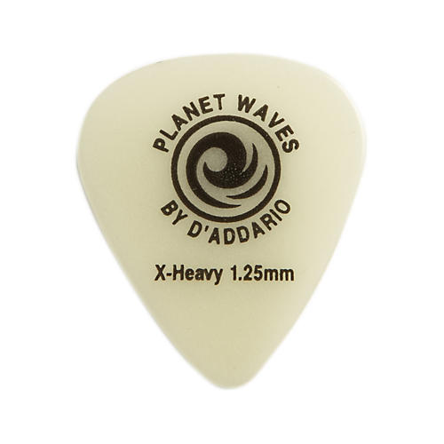 D'Addario Planet Waves Cellu-Glow Guitar Picks Extra Heavy 100 Pack