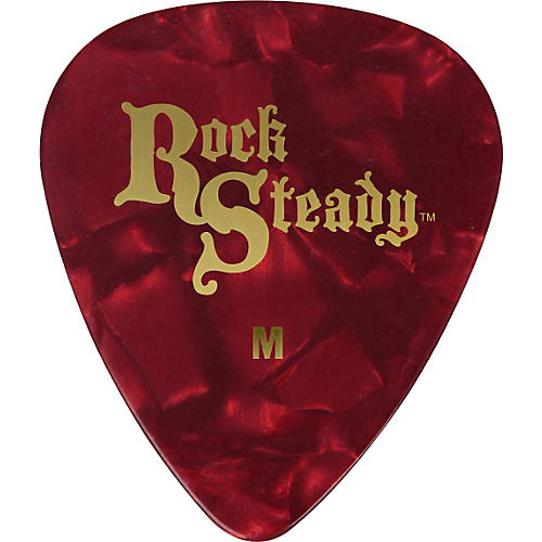 Rock Steady Celluloid Guitar Picks - 1 Dozen-thumbnail