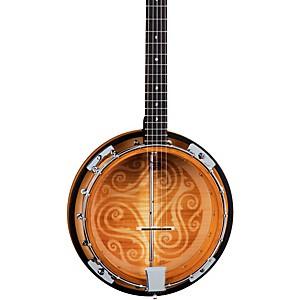 Luna Guitars Celtic 5 String Banjo