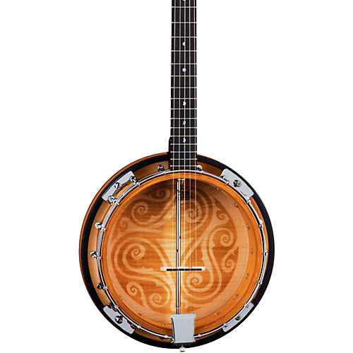 Luna Guitars Celtic 5-String Banjo-thumbnail