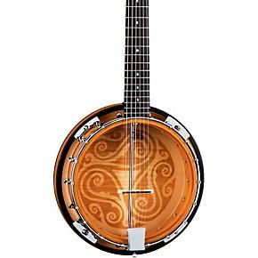 luna guitars celtic 6 string banjo guitar center. Black Bedroom Furniture Sets. Home Design Ideas