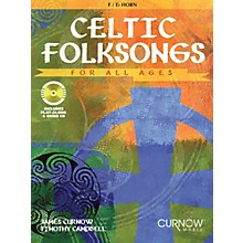 Curnow Music Celtic Folksongs for All Ages Curnow Play-Along Book Series Softcover with CD