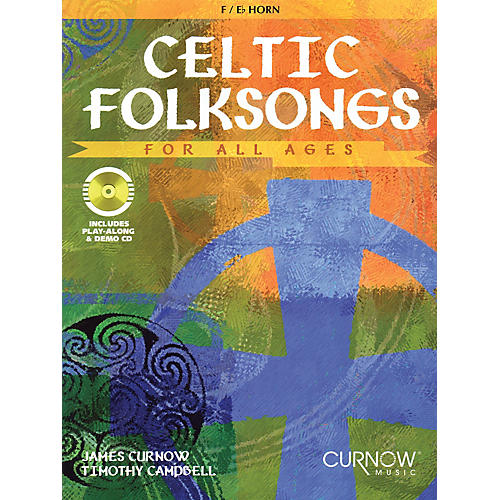 Curnow Music Celtic Folksongs for All Ages (Eb Instruments) Curnow Play-Along Book Series