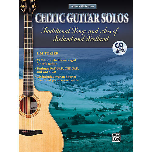 Alfred Celtic Guitar Solos Book with CD-thumbnail