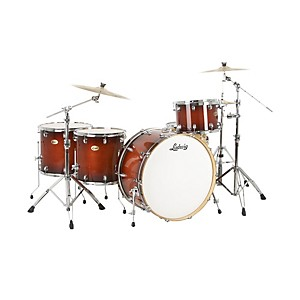 Click here to buy Ludwig Centennial Zep 4-Piece Shell Pack by Ludwig.