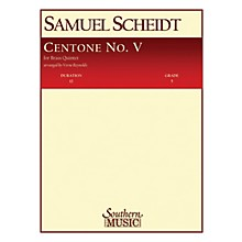 Southern Centone No. 5 (Brass Quintet) Southern Music Series Arranged by Verne Reynolds