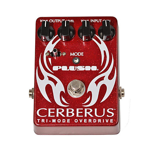Plush Cerberus Overdrive Guitar Effects Pedal