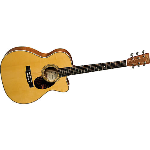 Martin Certified Wood Series OMCE Mahogany Acoustic-Electric Guitar-thumbnail